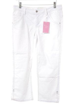 Esprit Pantalon capri blanc style décontracté
