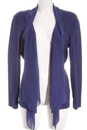 Esprit Cardigan blau Kuschel-Optik