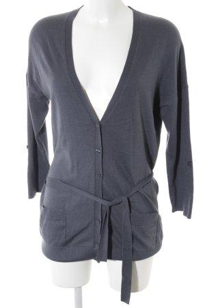 Esprit Cardigan dunkelblau-stahlblau Kuschel-Optik