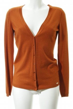Esprit Cardigan dunkelorange Casual-Look