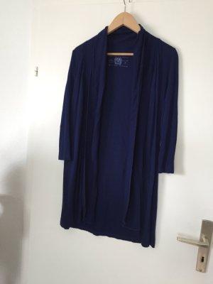 Esprit Cardigan, Long Cardigan, Zipfelcardigan, blau, Gr 34