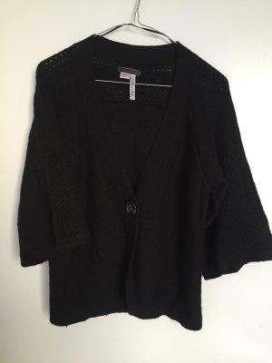 Esprit Cardigan Oversize kuschelig S schwarz Strickjacke