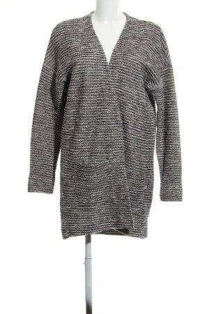 Esprit Cardigan noir-gris moucheté style décontracté