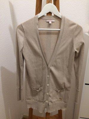 Esprit Cardigan Strickjacke beige Größe S