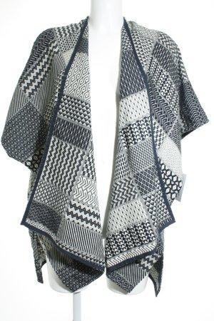 Esprit Cardigan weiß-dunkelblau Casual-Look