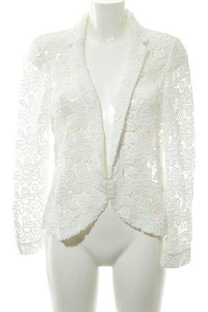 Esprit Cardigan blanc motif floral élégant