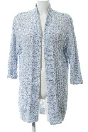 Esprit Cardigan weiß-kornblumenblau meliert Casual-Look