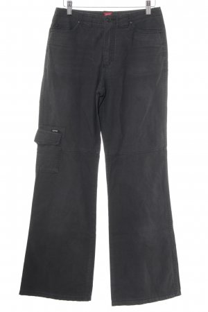 Esprit Cargohose anthrazit Casual-Look