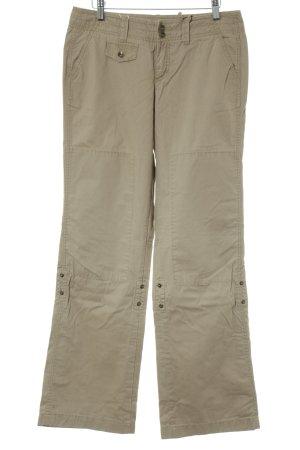 Esprit Pantalón de camuflaje camel estilo safari
