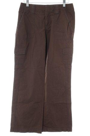 Esprit Pantalone cargo marrone scuro stile boyfriend