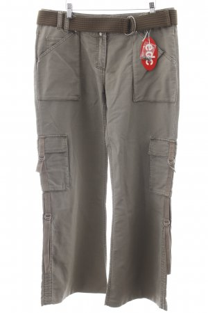 Esprit Cargo Pants green grey military look