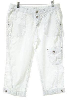 Esprit Pantalone cargo bianco stile boyfriend