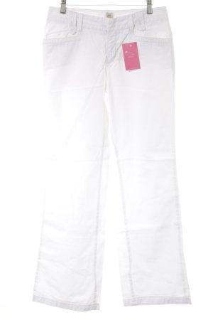 Esprit Cargobroek wit casual uitstraling