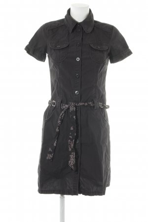 Esprit Cargokleid schwarz Military-Look