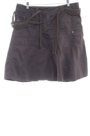 Esprit Falda estilo cargo marrón-negro look casual