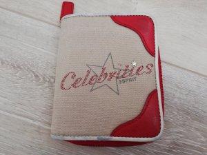 Esprit Celebrities Portemonnaie beige/rot