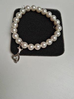 Esprit Charm Perlen-Armband mit Herz-Anhänger