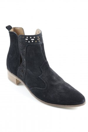 Esprit Chelsea Boots schwarz Ethno-Look