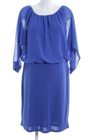 Esprit Chiffonkleid blau klassischer Stil