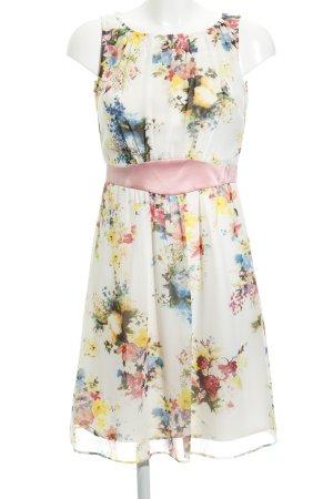 Esprit Vestido de chifón estampado floral look casual