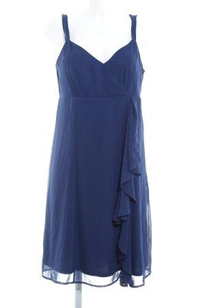 Esprit Chiffonkleid dunkelblau Elegant
