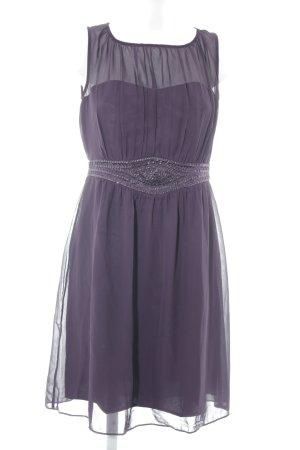Esprit Chiffon jurk donkerpaars elegant