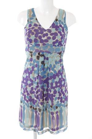 Esprit Robe chiffon motif de tache style des années 60