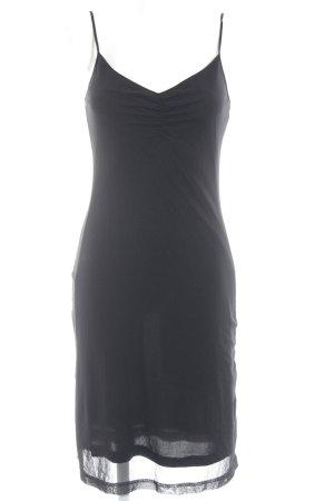 Esprit Chiffon jurk zwart elegant