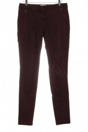 Esprit Chinohose brombeerrot Casual-Look