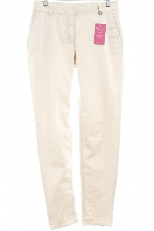 Esprit Chinohose creme Casual-Look