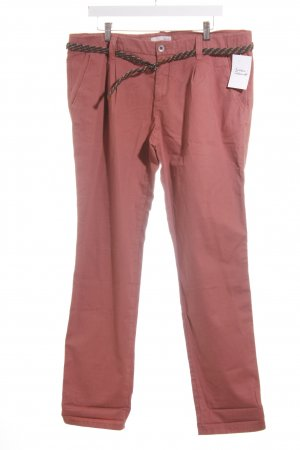 Esprit Chinohose rostrot Casual-Look