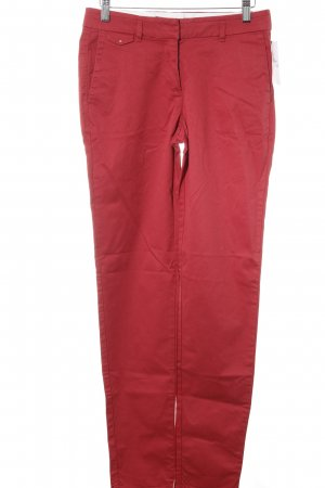 Esprit Pantalone chino rosso stile casual