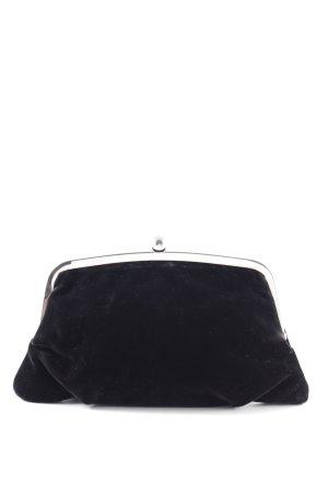 Esprit Clutch schwarz-silberfarben Casual-Look