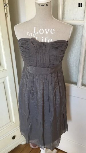 Esprit Cocktail Kleid grau super schick 120€