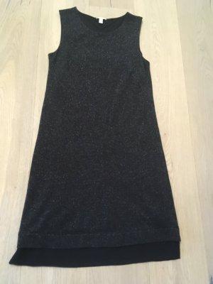 Esprit Cocktail Kleid - schwarz / glitzernd - Gr. 36