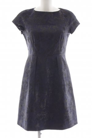 Esprit Cocktailkleid dunkelblau-schwarz florales Muster Elegant