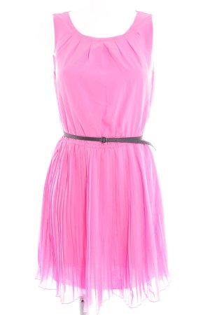 Esprit Cocktailkleid pink-schwarz Elegant