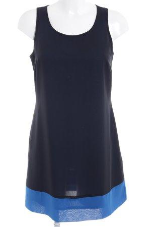 Esprit Cocktailkleid schwarz-blau Colourblocking