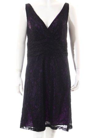 Esprit Cocktailkleid schwarz-lila Elegant