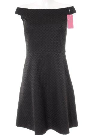 Esprit Cocktailkleid schwarz Punktemuster Elegant