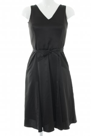 esprit collection A-Linien Kleid schwarz Elegant
