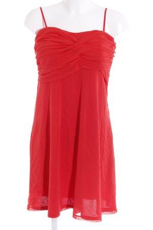 esprit collection Vestido bandeau rojo elegante