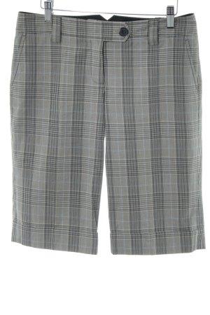 esprit collection Bermuda grigio chiaro motivo a quadri stile professionale