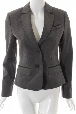 esprit collection Blazer dunkelgrau-schwarz Business-Look
