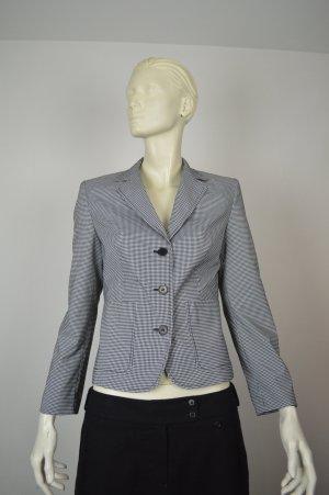 Esprit Collection Blazer, Gr. 36, blau-weiß kariert, wie neu