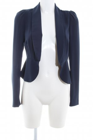 esprit collection Blousejack donkerblauw casual uitstraling