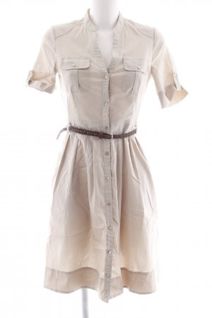 esprit collection Blusenkleid creme Casual-Look