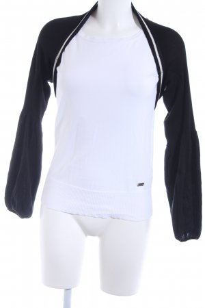 esprit collection Bolero black-natural white casual look
