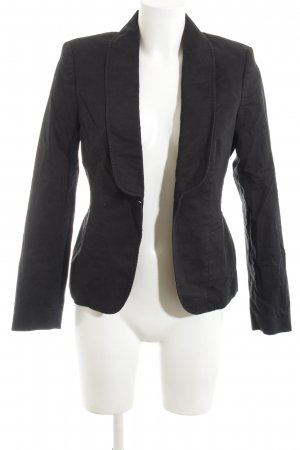 esprit collection Boyfriend-Blazer schwarz Casual-Look