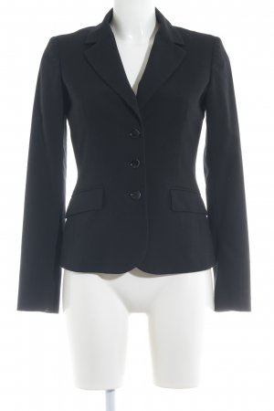 esprit collection Boyfriend-Blazer schwarz Business-Look